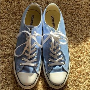 Baby Blue Converse All Stars